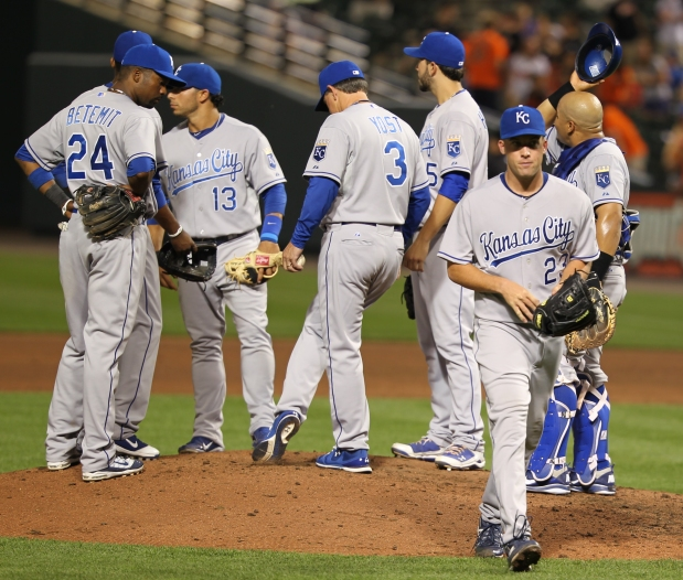 Kansas City Royals Likely to Regress in 2015